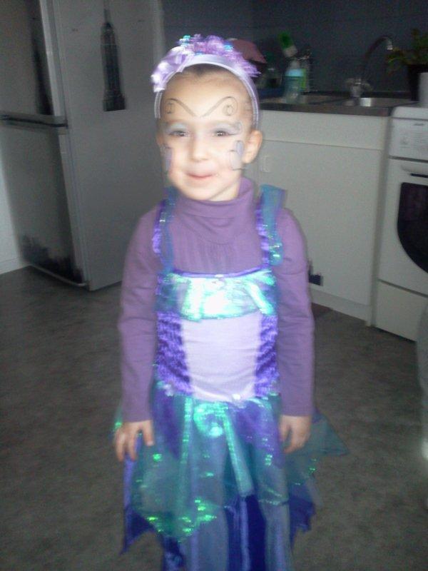 ma fille noelyne au défilé de carnaval le 22/02/2012