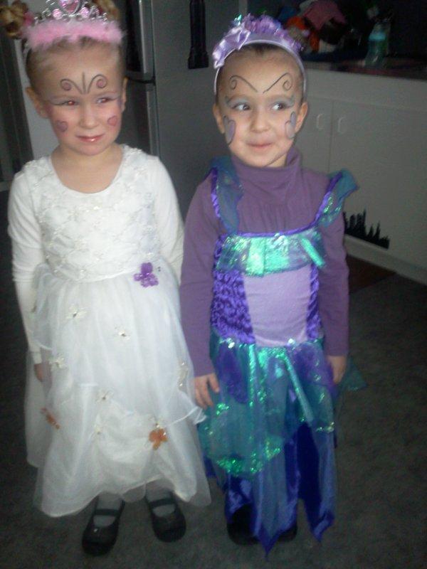 ma fille et ma nièce