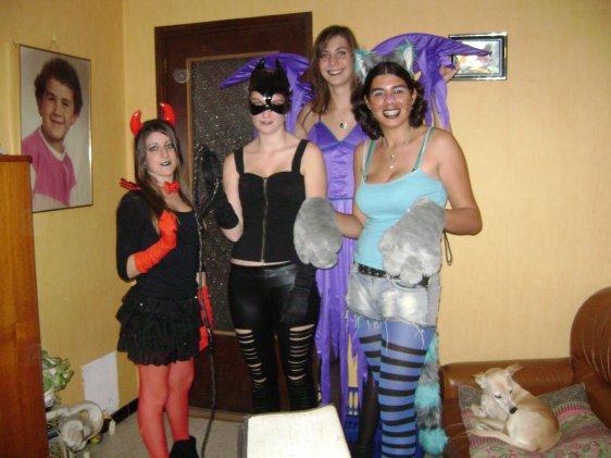 Halloween entre amies 2011