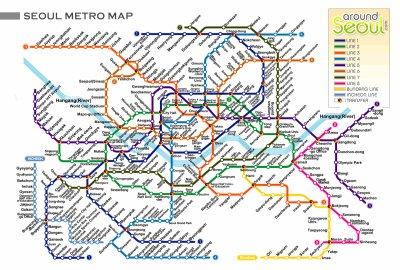 Le métro de Séoul (서울 지하철)