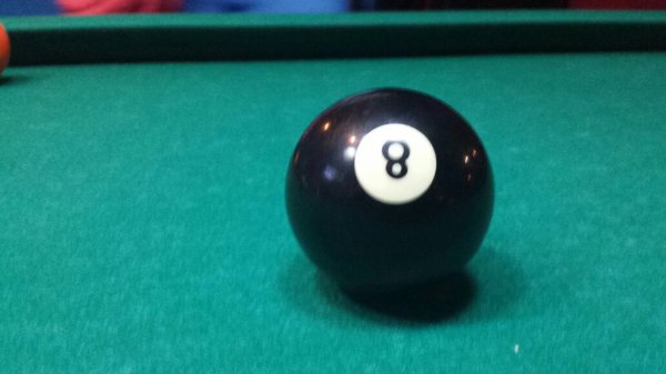 La bola 8 ! :)