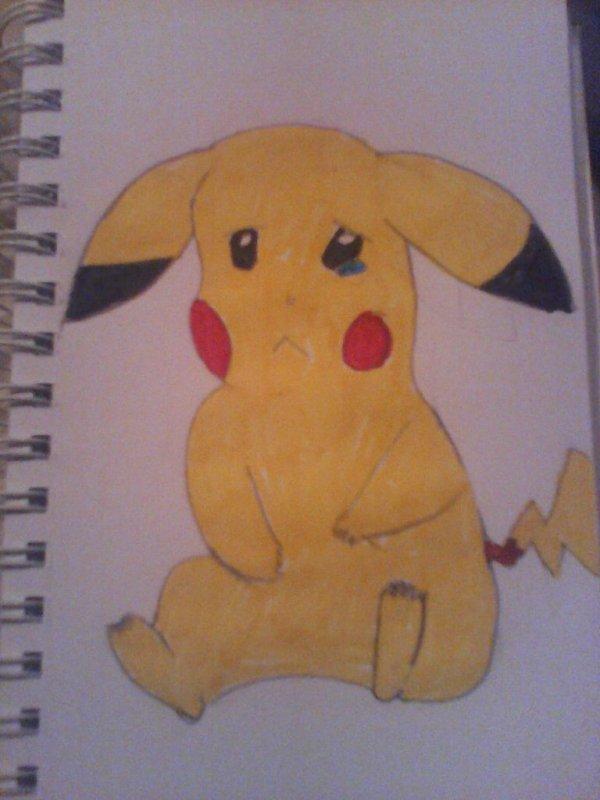 Et pikachu triste