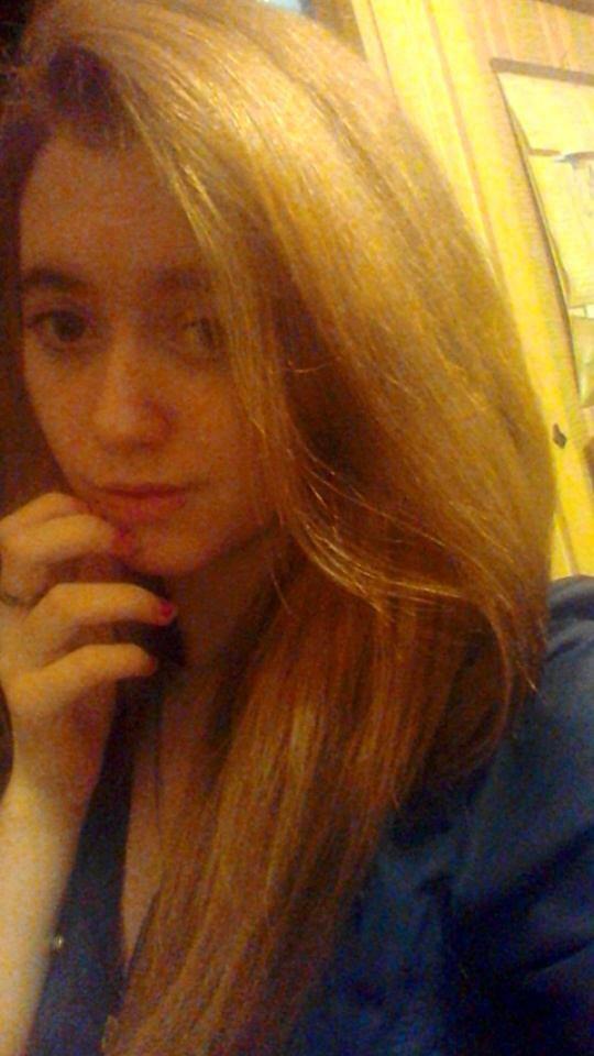 Moi en blonde, couleur chocolat a venir :*