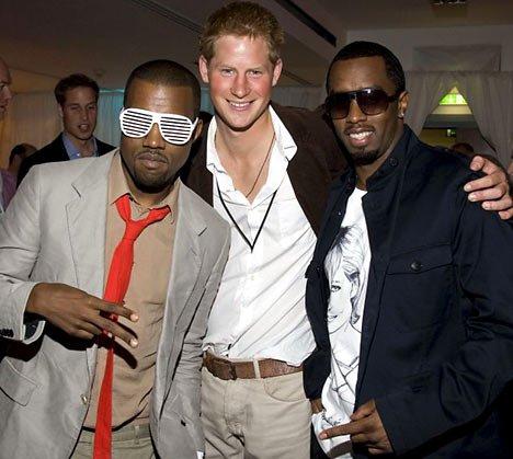 P. Diddy veut le prince Harry comme guide de soirée
