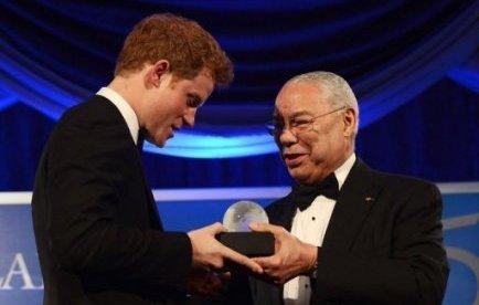 Le prince Harry récompensé pour son soutien aux soldats blessés