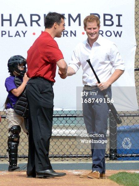 Le prince Harry en visite aux États-Unis - Quatrième journée
