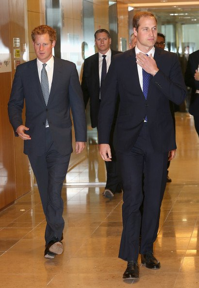 The Duke Of Cambridge And Prince Harry Attend BGC Partners Charity Day