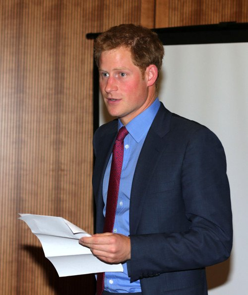 Prince Harry Attends a Reception in London — Part 2