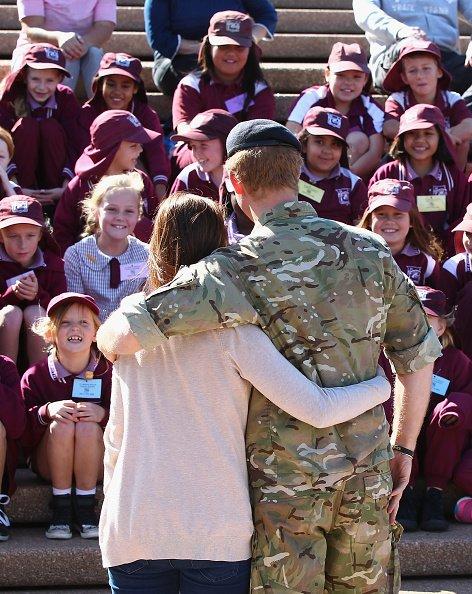 Le Prince Harry en visite a Sydney