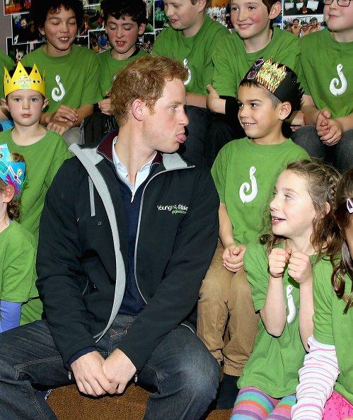 Le prince Harry en visite en Nouvelle-Zélande - Jour 2