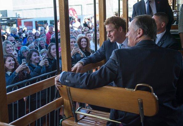 Le prince Harry en visite en Nouvelle-Zélande - Jour 4