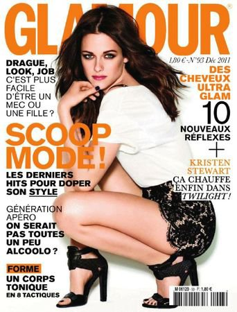 voici la photo du magazine Glamour en France