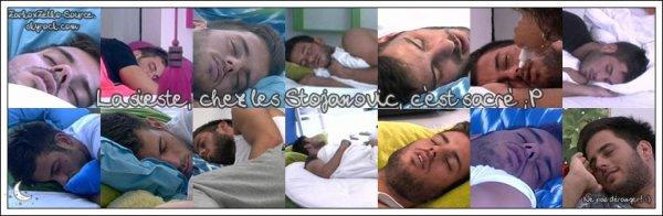 Chez les Stojanovic, la sieste, c'est sacré!