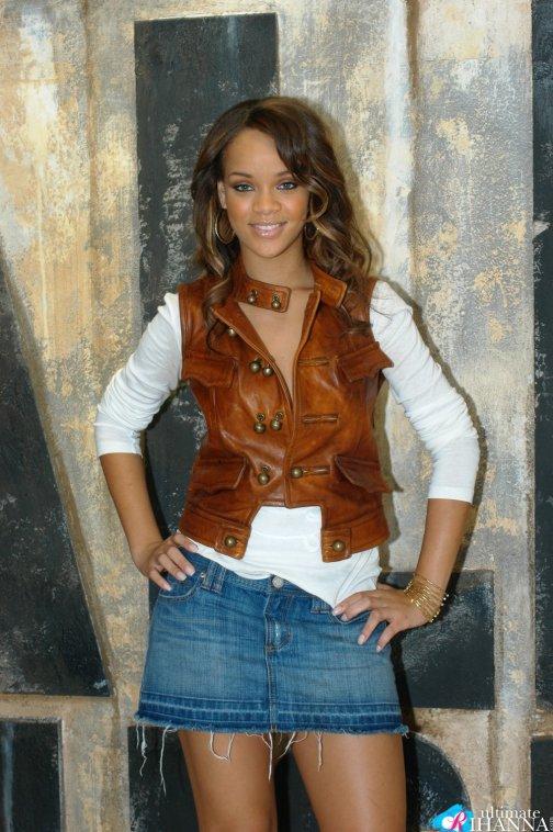 Rihanna avant