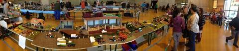 mon diorama a l expo de lempde