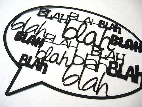 Blah Blah Blah ♪♪