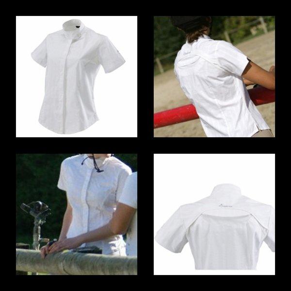 Tee-shirt Blanc FFE compétition