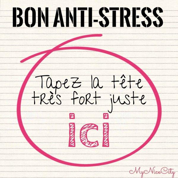 Comment faire passer les crises de stress ?