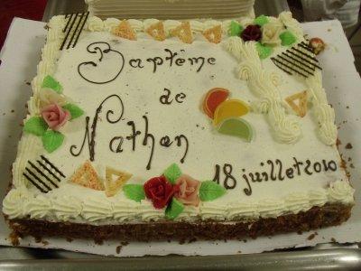 Baptême De Nathan  Le 18 Juillet 2010