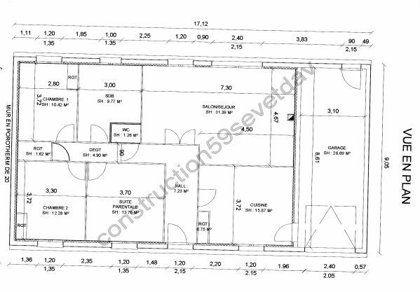 Plan De La Maison Blog De Construction59 Sev Et Dav