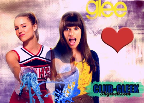 » CLUB-GLEEK ; Ton blog fiction sur la série Glee !