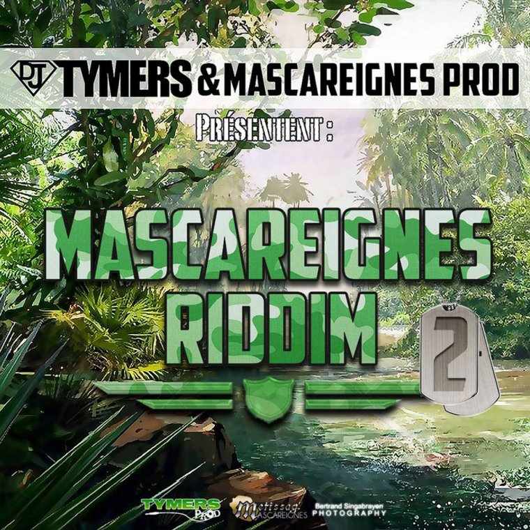 MASCAREIGNES RIDDIM 2 /  ALAZA - INDEPENDANT - MASCAREIGNES RIDDIM 2 (2013)