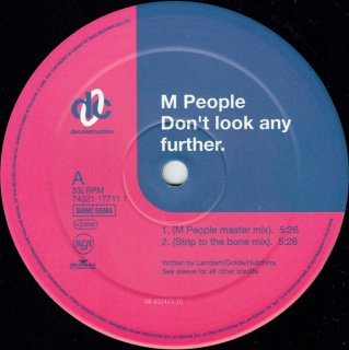 M. People - Don't Look Any Further