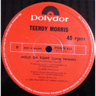 Teeroy Morris - Hold On Tight