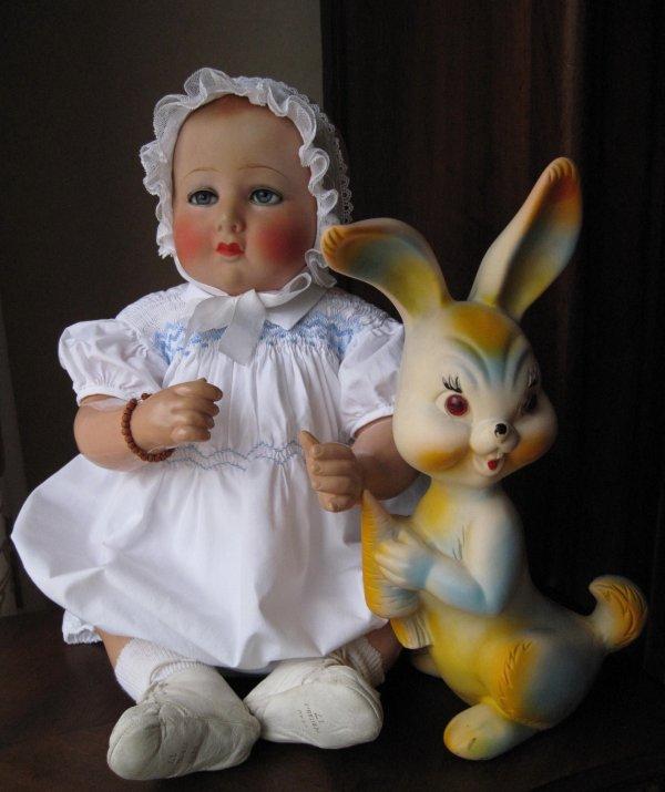 mon premier Petitcollin en hommage à Madame Elisabeth Chauveau une grande dame du monde de la poupée !!!