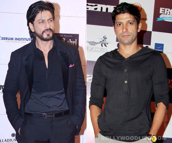 king khan with faran akhtar