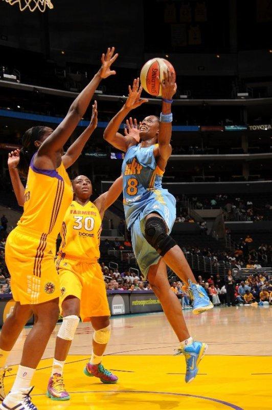 WNBA : Los Angeles Sparks 86 - Chicago Sky 77