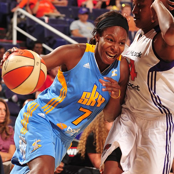 WNBA : Phoenix Mercury 55 - Chicago Sky 86