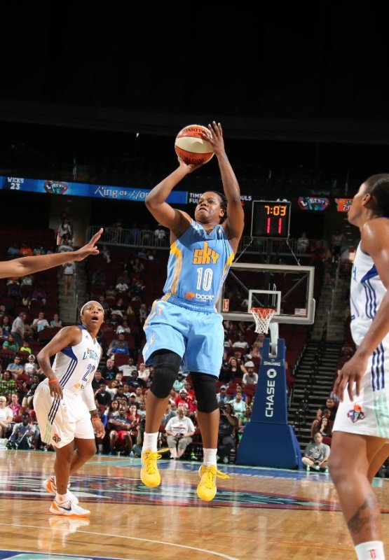 WNBA : New York Liberty 64 - Chicago Sky 93