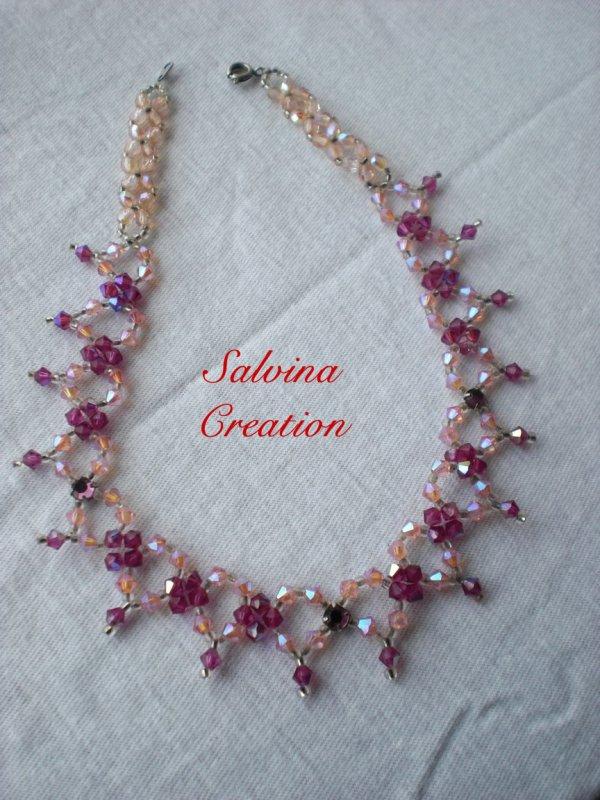 collier en perle swarovski 3