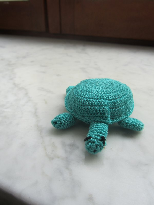 tortue au crochet