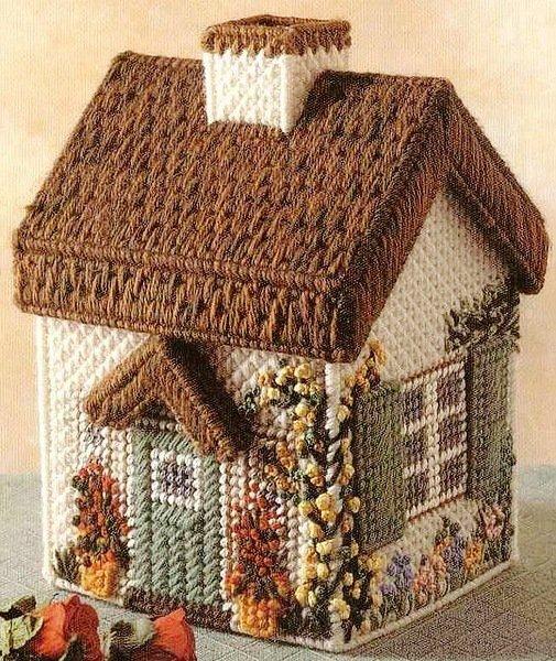 Petite maisons en canevas plastique