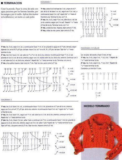 mini pull au crochet