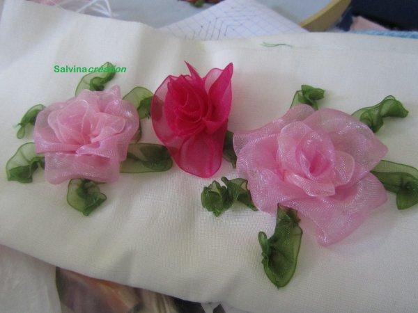 Rose au ruban ( 1