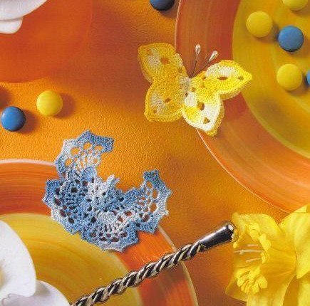Papillon au crochet