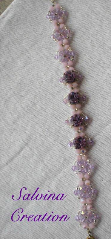 Bracelet en perle swarovski