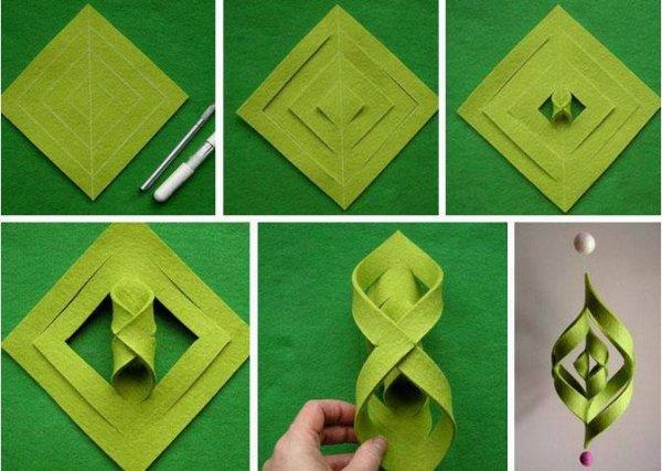 Comment faire une etoile de no l pour le sapin les cr ations de salvina - Comment faire une etoile ...