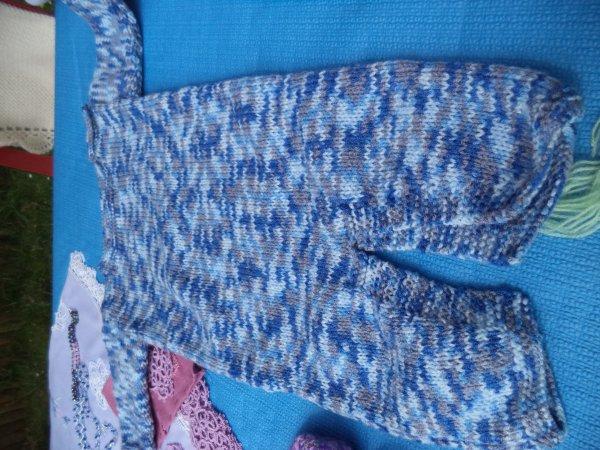 Ensemble bébé au tricot