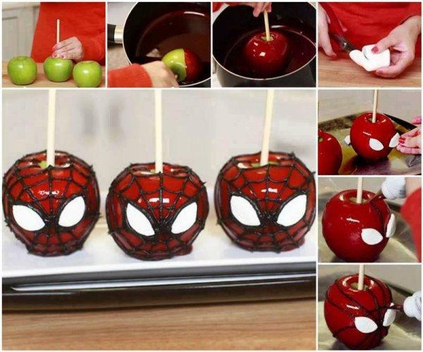 Pomme Spidermann