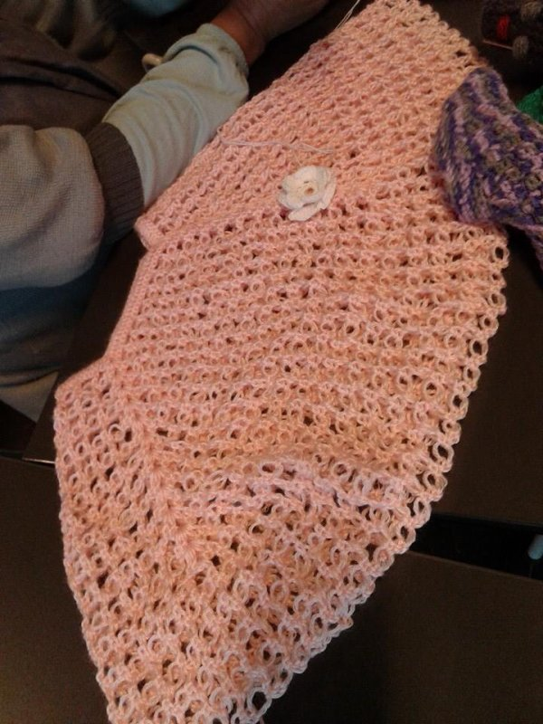 Quelques ouvrages au crochet et au tricot