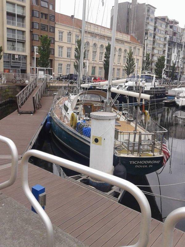 Promenade a Oostende