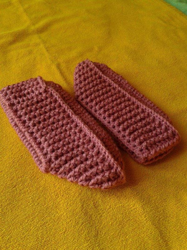 chausson crochet 2