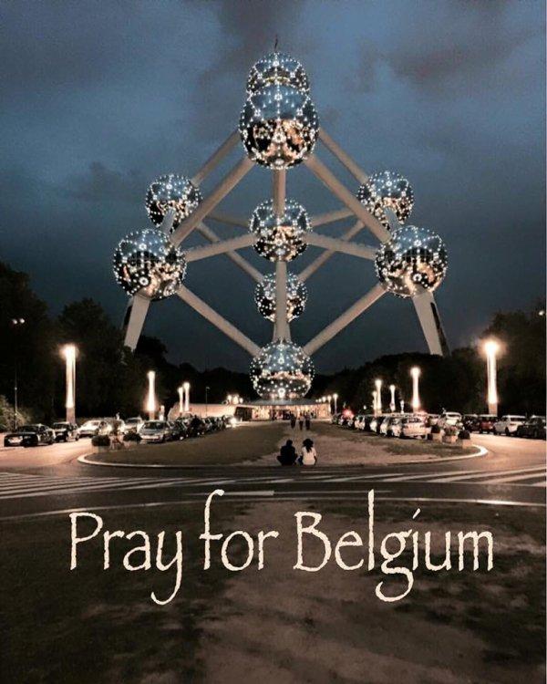Prier pour la Belgique