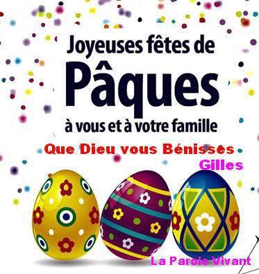 Bonne Pâques