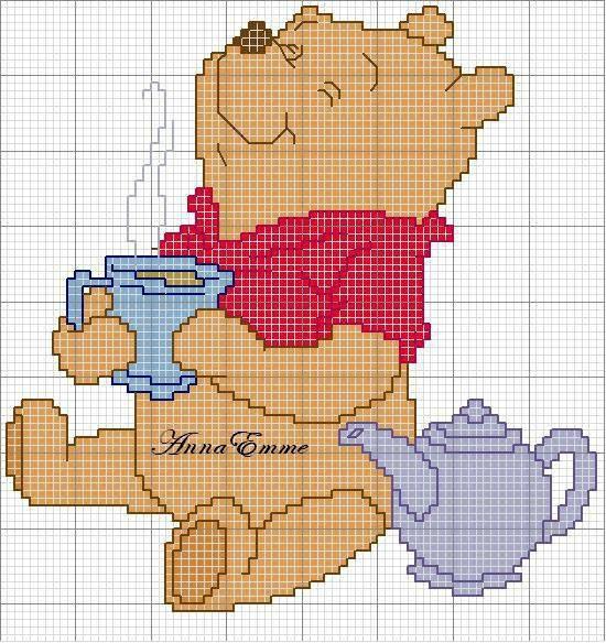 Grille Disney Winnie l'ourson