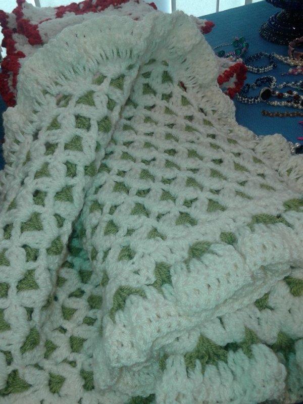 couverture bébé au crochet